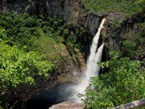 Salto do Rio Preto, com 120m de queda